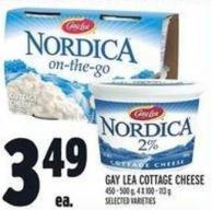 Gay Lea Cottage Cheese 450 - 500 g - 4 X 100 - 113 g