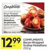 Compliments Bacon-wrapped Scallop Medallions