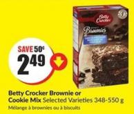 Betty Crocker Brownie or Cookie Mix Selected Varieties 348-550 g