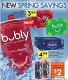 Bubly Sparkling Water Selected 12x355 mL
