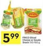 Frico Sliced Cheese or Gouda Snack 150-160 g
