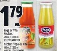 Yoga Or Vita Nectars 680 ml - 3 X 200 ml
