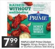 Maple Leaf Prime Chicken Nuggets