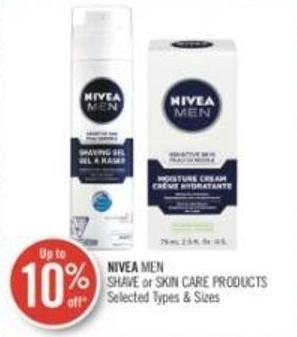 Nivea Men Shave or Skin Care Products