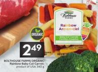 Bolthouse Farms Organic Rainbow Baby-cut Carrots