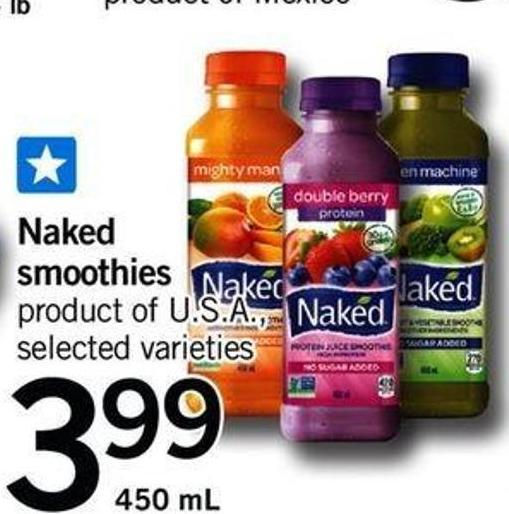 Naked Smoothies - 450 Ml