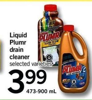Liquid Plumr Drain Cleaner - 473-900 Ml