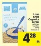 Love Child Organics Cereal - 227 g