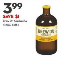 Brew Dr. Kombucha 414ml Bottle