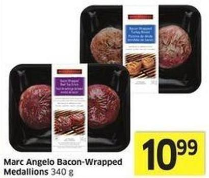 Marc Angelo Bacon-wrapped Medallions 340 g