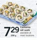 California Roll Sushi - 298 g