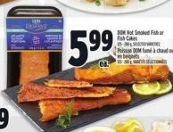 Dom Hot Smoked Fish Or Fish Cakes 125 - 280 g