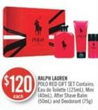 Ralph Lauren Polo Red Gift Set