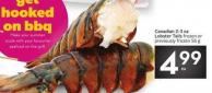 Canadian 2-3 Oz Lobster Tails