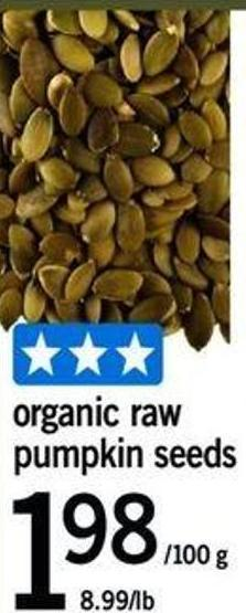 Organic Raw Pumpkin Seeds