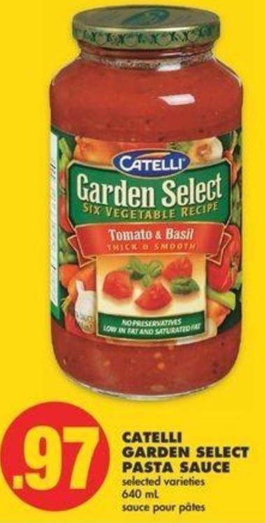 Catelli Garden Select Pasta Sauce - 640 Ml