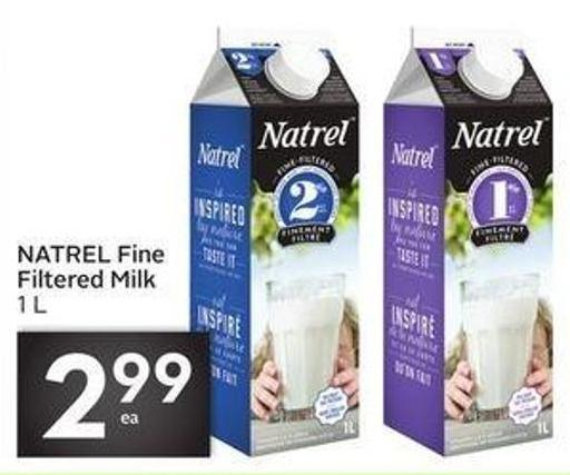 Natrel Fine Filtered Milk