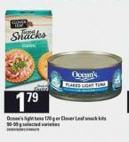 Ocean's Light Tuna 170 G Or Clover Leaf Snack Kits 90-99 G