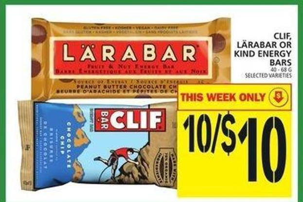 Clif - Lärabar Or Kind Energy Bars