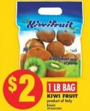 Kiwi Fruit 1 Lb Bag
