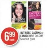 Nutrisse - Casting or L'image Hair Colour