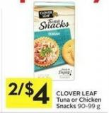 Clover Leaf Tuna or Chicken Snacks