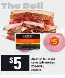 Ziggy's Deli Meat - 250-600 g