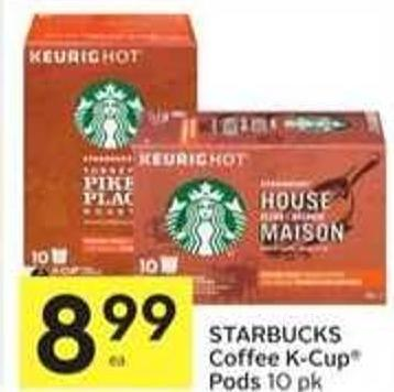 Starbucks Coffee K-cup Pods