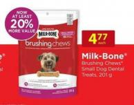 Milk-bone Brushing Chews Small Dog Dental Treats