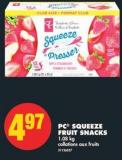 PC Squeeze Fruit Snacks - 1.08 Kg