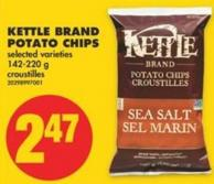 Kettle Brand Potato Chips - 142-220 g