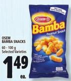 Osem Bamba Snacks