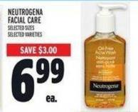 Neutrogena Facial Care