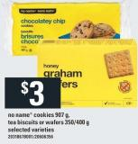 No Name Cookies - 907 G - Tea Biscuits Or Wafers - 350/400 G