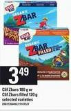 Clif Zbars - 180 G Or Clif Zbars Filled - 120 G