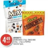 Hershey's Crunchers (170g) - Snack Mix (160g - 170g) or Popped