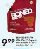 Boned Broth Company Organic Bone Broth