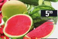 Large Seedless Watermelon Or Honeydew Melons