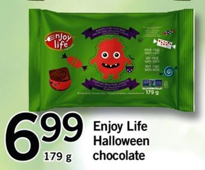 Enjoy Life Halloween Chocolate - 179 G