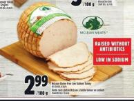 Mclean Gluten Free Low Sodium Turkey