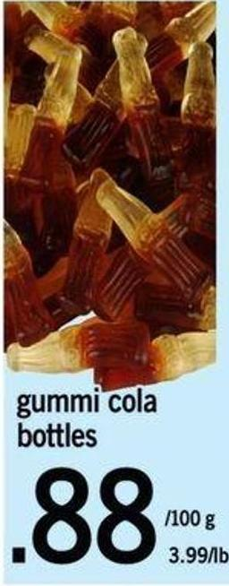 Gummi Cola Bottles
