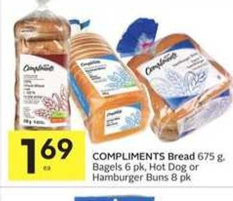 Compliments Bread