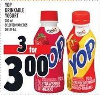 Yop Drinkable Yogurt - 200 Ml