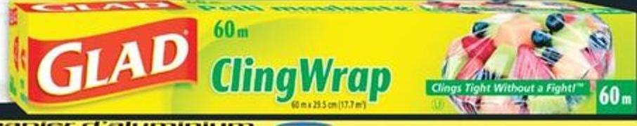 Glad Cling Wrap - 60 M