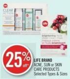 Life Brand Acne - Sun or Skin Care Products