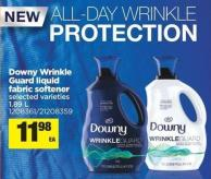 Downy Wrinkle Guard Liquid Fabric Softener - 1.89 L