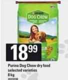 Purina Dog Chow Dry Food - 8 Kg