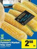 Farmer's Market Tray Corn - 5 Count
