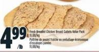 Fresh Breaded Chicken Breast Cutlets Value Pack