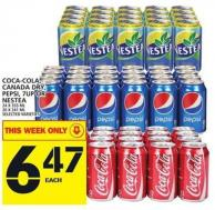 Coca-cola - Canada Dry - Pepsi - 7up Or Nestea